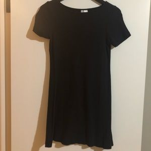 Divided Ribbed Tshirt Dress